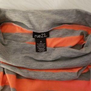 Rue21 Skirts - Orange and gray maxi skirt. Size M